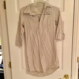 Bridge and Burn | Striped Shirt Dress